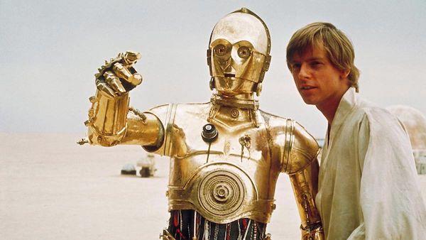 Come appunto Luke nella foto :-)